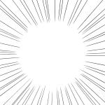漫画背景集中線
