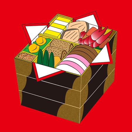 おせち料理イラスト