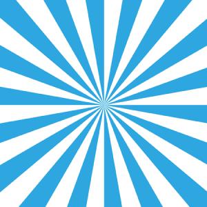 カラフル集中線4