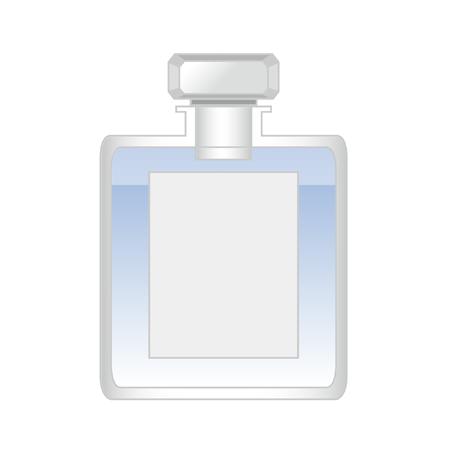 フレグランス香水瓶イラスト無料2