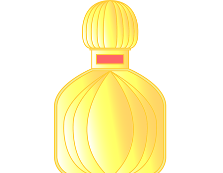 フレグランス香水瓶イラスト無料
