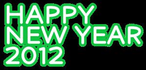 HAPPY NEW YEAR文字イラスト