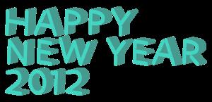 3D立体HAPPY NEW YEAR