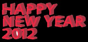 3D立体文字HAPPY NEW YEAR