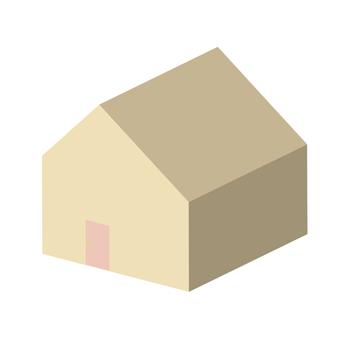 シンプルな家イラスト