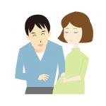 妊婦若い夫婦イラスト