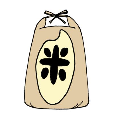 お米袋イラスト