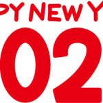 HAPPY NEW YEAR2020ロゴ赤