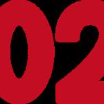 2021文字イラスト年賀状素材赤色