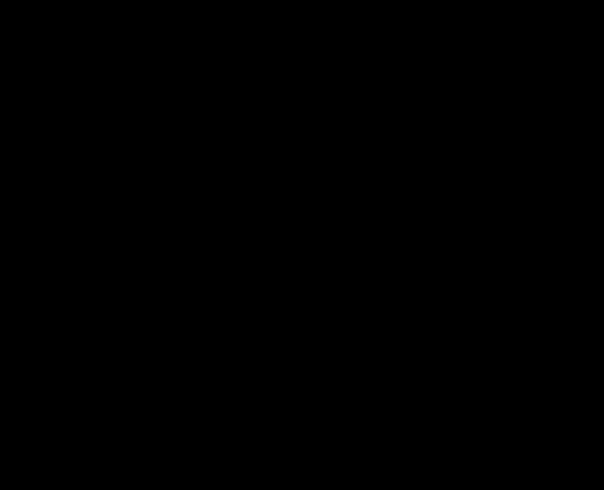 【墨】丑文字イラスト年賀状素材【筆書き】